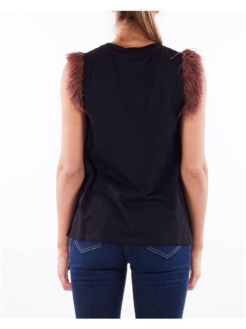 T-shirt Plumette con stampa Aniye By ANIYE BY | T-shirt | 1813922