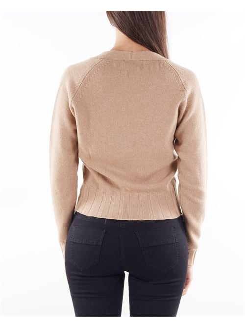 Cardigan con zip in lana Anna Molinari ANNA MOLINARI   Cardigan   7M003A169