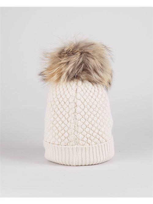 Cappello in lana con pon pon Blauer BLAUER | Cappello | BLDA05385103