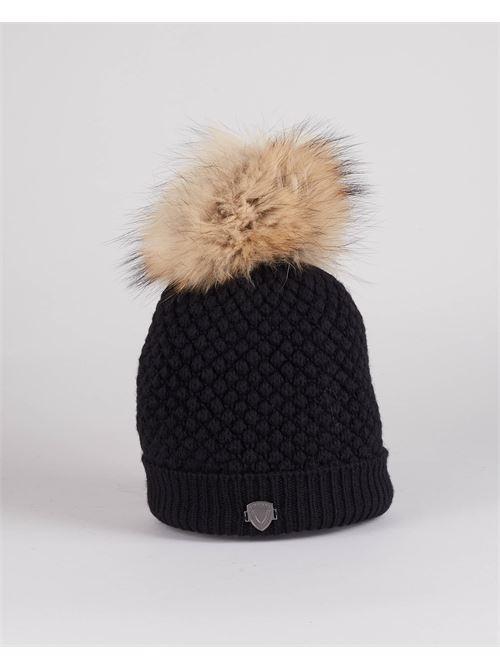Cappello in lana con pon pon Blauer BLAUER | Cappello | BLDA05385999