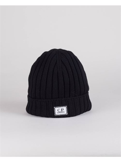 Cappello Extra Fine Merino Wool Logo C.P. Company C.P. COMPANY | Cappello | 11CMAC120A005509A999