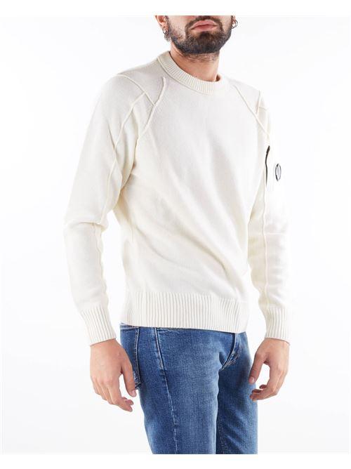 Lambswool Crew Neck Knit C.P. Company C.P. COMPANY | Maglia | 11CMKN087A005504A103