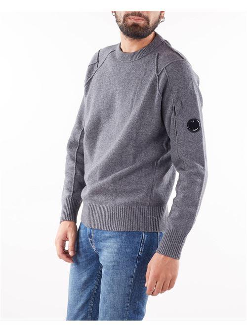 Lambswool Crew Neck Knit C.P. Company C.P. COMPANY | Maglia | 11CMKN087A005504A925