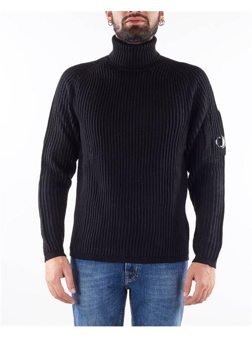 Merino Wool Roll Neck Knit C.P. Company C.P. COMPANY | Maglia | 11CMKN182A005292A999
