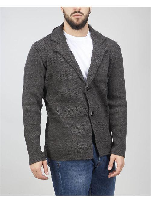 Giacca in maglia di Daniele Alessandrini DANIELE ALESSANDRINI | Giacca | FG90826410611