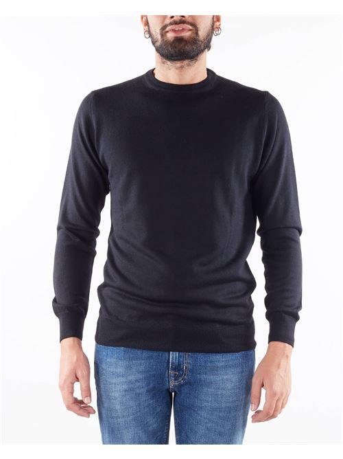 Maglia in lana rasata Daniele Alessandrini DANIELE ALESSANDRINI | Maglia | FM9079141061