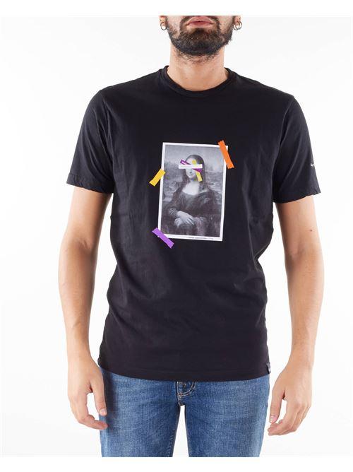 T-shirt con stampa Daniele Alessandrini DANIELE ALESSANDRINI | T-shirt | M7541E64341061