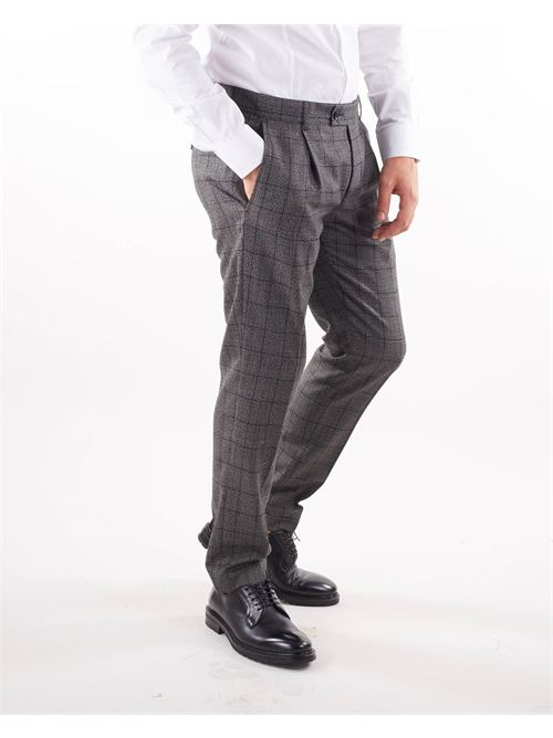 Pantalone fantasia check Daniele Alessandrini DANIELE ALESSANDRINI | Pantalone | P3983S23644106123