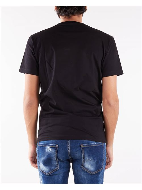 T-shirt con stampa logo Dsquared DSQUARED | T-shirt | S71GD1079900
