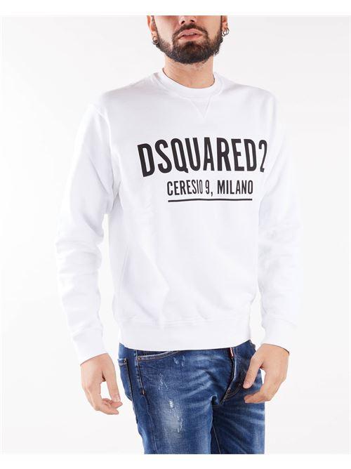 Felpa con stampa Ceresio 9 Dsquared DSQUARED | Felpa | S71GU0448100