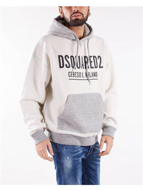 Felpa con logo Ceresio 9 Dsquared DSQUARED | Felpa | S71GU0465858