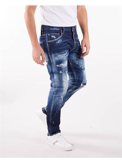 Jeans Dark SS Snowboard Wash Skater Jean Dsquared DSQUARED | Jeans | S71LB0944470