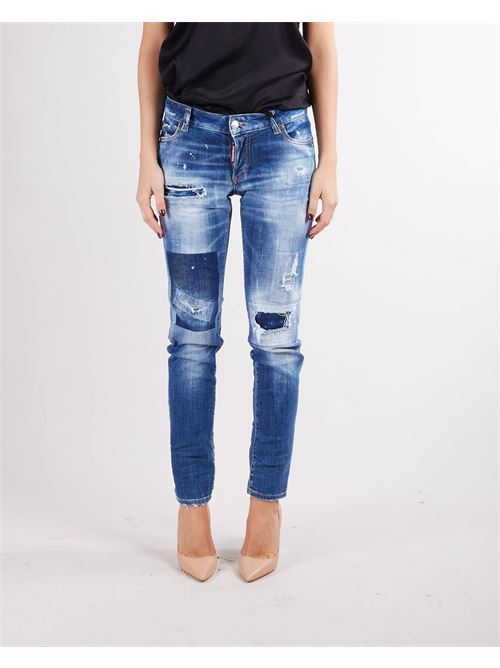 Medium Dark Patches Wash Jennifer Jean Dsquared DSQUARED | Jeans | S72LB0451470
