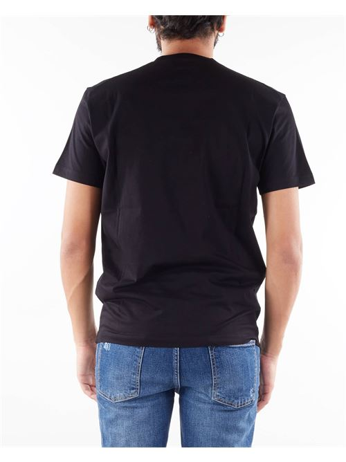 T-shirt con stampa a rilievo Dsquared DSQUARED | T-shirt | S74GD0856900