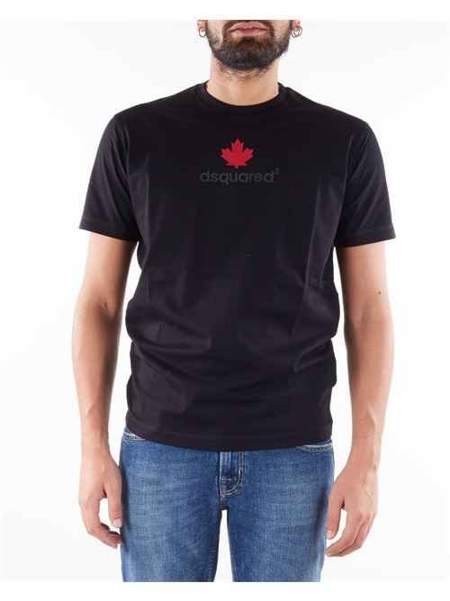 T-shirt mini D2Leaf Cool Dsquared DSQUARED | T-shirt | S74GD0857900