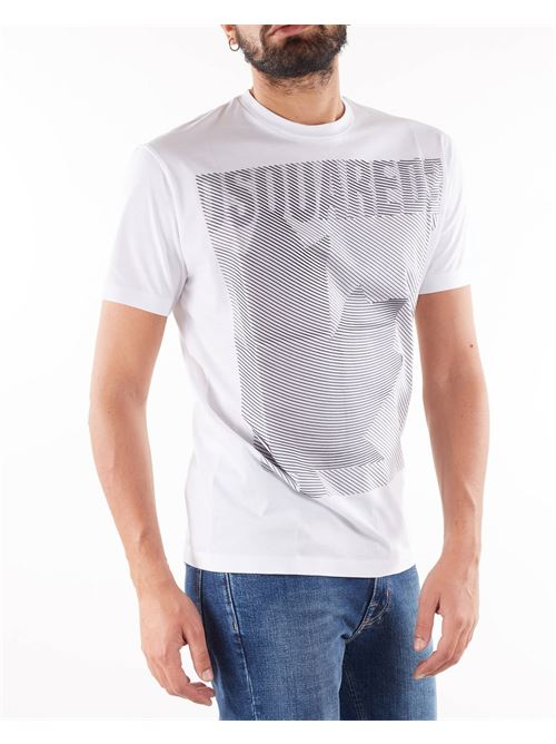 T-shirt con stampa Dsquared DSQUARED | T-shirt | S74GD0862100