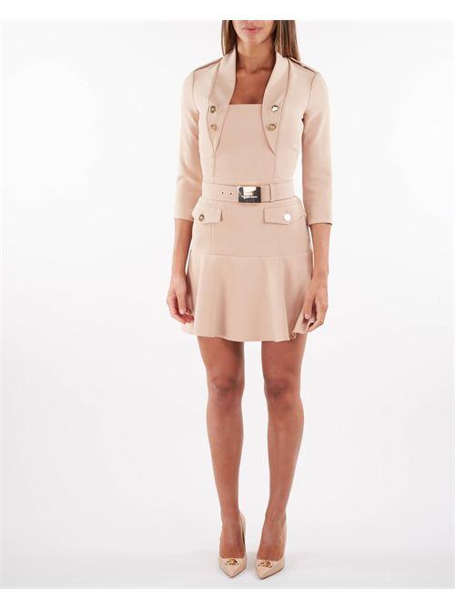 Mini abito con cintura Elisabetta Franchi ELISABETTA FRANCHI | Abito | AB00916E2043