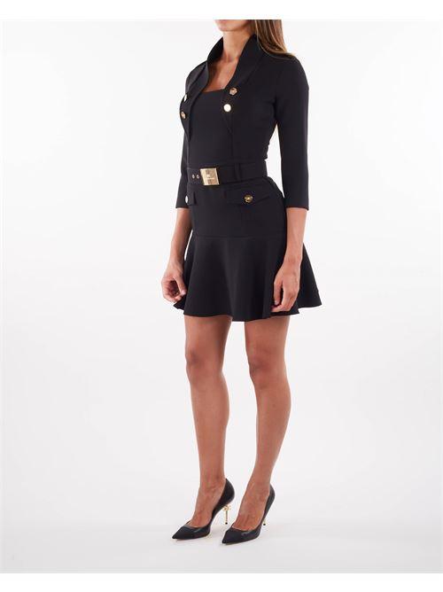 Mini abito con cintura Elisabetta Franchi ELISABETTA FRANCHI | Abito | AB00916E2110