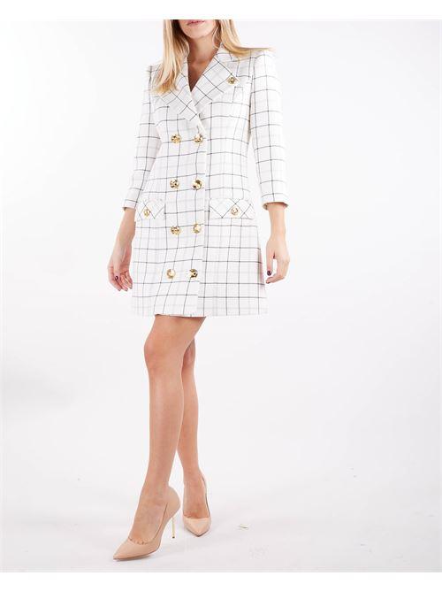 Abito Robe manteau stampa tartan Elisabetta Franchi ELISABETTA FRANCHI | Abito | AB01516E2193