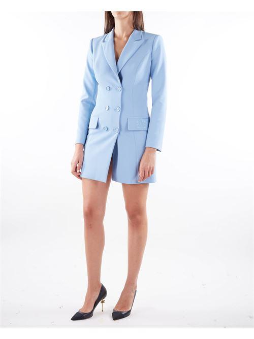 Robe manteau con stemma ricamato EF Elisabetta Franchi ELISABETTA FRANCHI | Abito | AB08916E2Q80