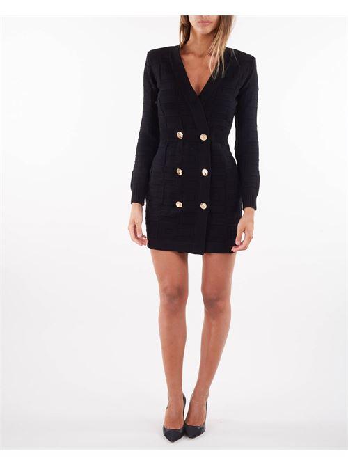 Abito Robe manteau con pattern logo Elisabetta Franchi ELISABETTA FRANCHI   Abito   AM23S16E2110