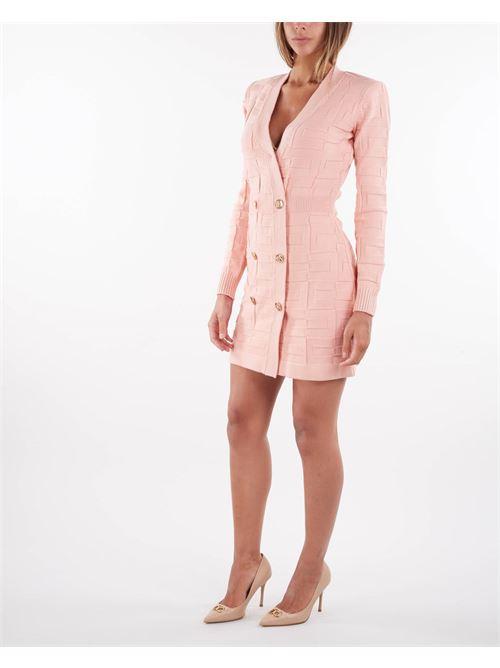 Abito Robe manteau con pattern logo Elisabetta Franchi ELISABETTA FRANCHI   Abito   AM23S16E2153