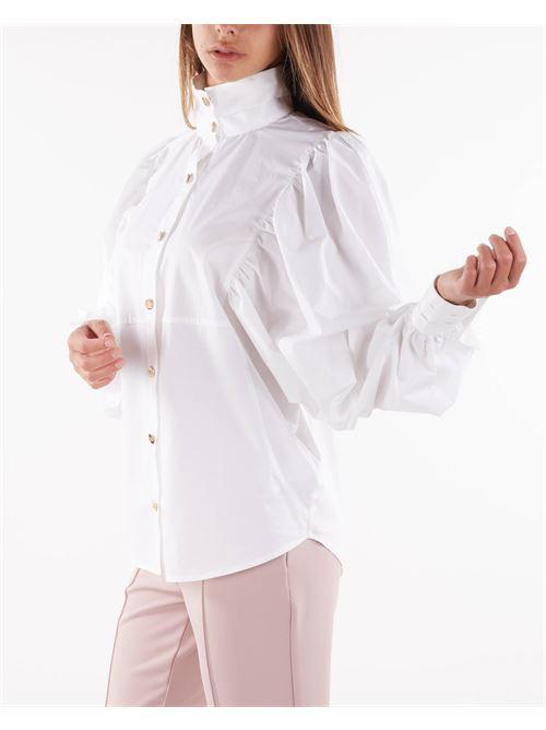 Camicia di cotone con manica ampia Elisabetta Franchi ELISABETTA FRANCHI   Camicia   CA29616E2100