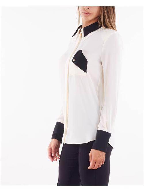 Camicia bicolore Elisabetta Franchi ELISABETTA FRANCHI   Camicia   CA30016E2E84