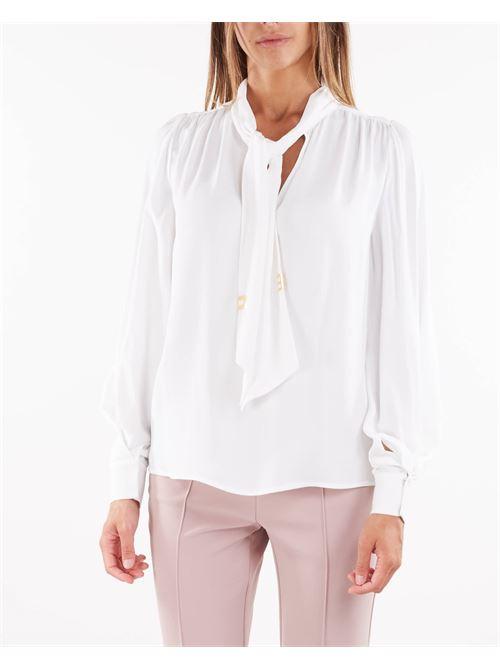 Camicia con iniziali light gold Elisabetta Franchi ELISABETTA FRANCHI   Camicia   CA30316E2360