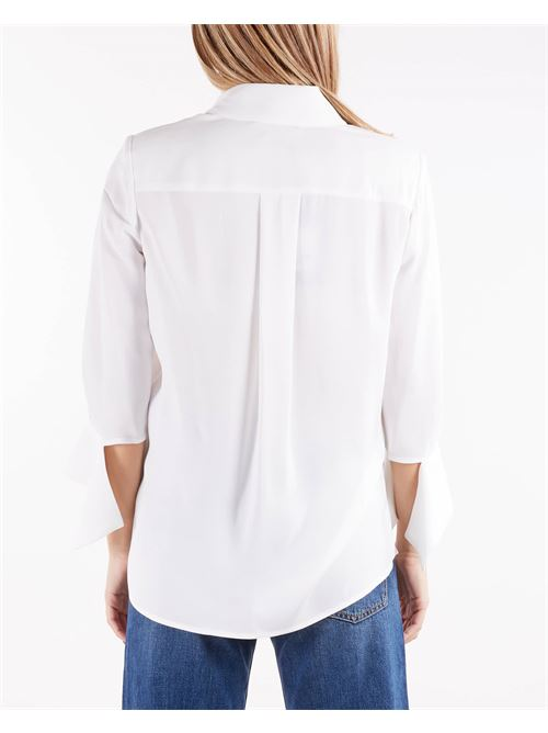 Camicia con bottoni light gold Elisabetta Franchi ELISABETTA FRANCHI | Camicia | CA33516E3360