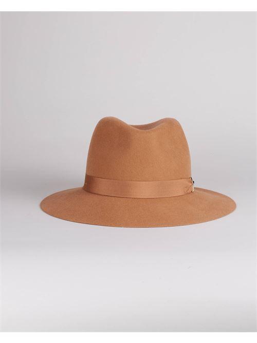 Cappello in feltro con morsetto logo Elisabetta Franchi ELISABETTA FRANCHI | Cappello | CL01C16E2470