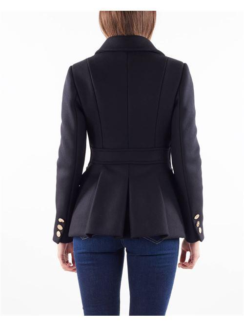 Cappotto corto misto lana Elisabetta Franchi ELISABETTA FRANCHI   Cappotto   CP00516E2110