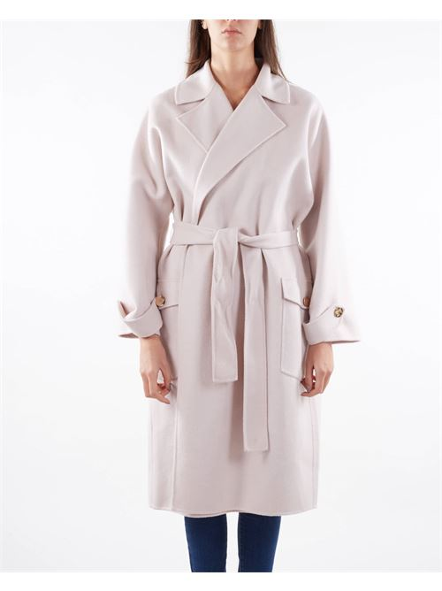 Cappotto in panno a vestaglia Elisabetta Franchi ELISABETTA FRANCHI   Cappotto   CP34W16E2686