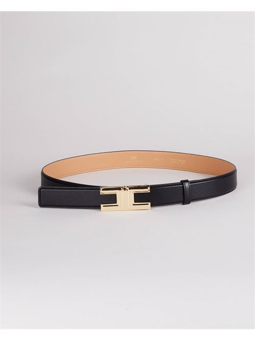 Cintura con logo gold Elisabetta Franchi ELISABETTA FRANCHI | Cintura | CT12S16E2110