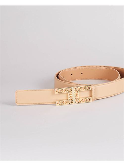 Cintura con logo Elisabetta Franchi ELISABETTA FRANCHI | Cintura | CT13S16E2470
