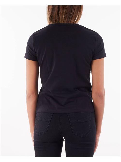 T-shirt con morso cavallo ricamato Elisabetta Franchi ELISABETTA FRANCHI | T-shirt | MA20116E2110