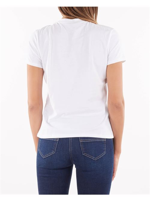 T-shirt con charm removibile Elisabetta Franchi ELISABETTA FRANCHI | T-shirt | MA20316E2270
