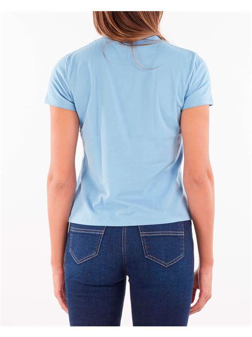 T-shirt con applicazione piercing Elisabetta Franchi ELISABETTA FRANCHI | T-shirt | MA20616E2Q80