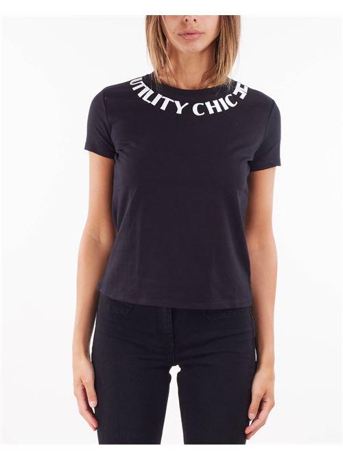 T-shirt girocollo con ricamo Elisabetta Franchi ELISABETTA FRANCHI | T-shirt | MA20816E2314