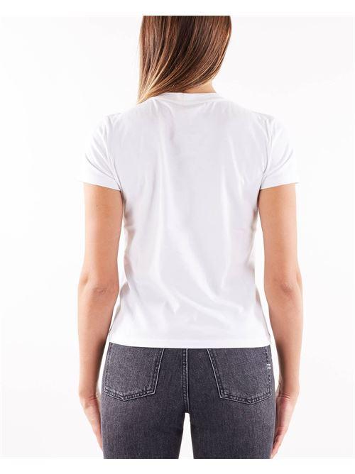 T-shirt con fiocco e charm Elisabetta Franchi ELISABETTA FRANCHI | T-shirt | MA20916E2392