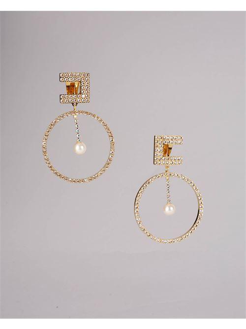 Orecchini pendenti con perle Elisabetta Franchi ELISABETTA FRANCHI | Orecchini | OR02A16E2610