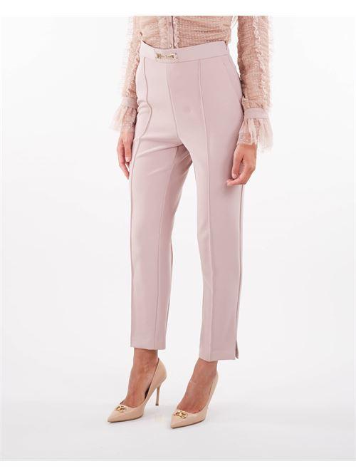 Pantaloni a sigaretta di Elisabetta Franchi ELISABETTA FRANCHI   Pantalone   PA38416E2Q83