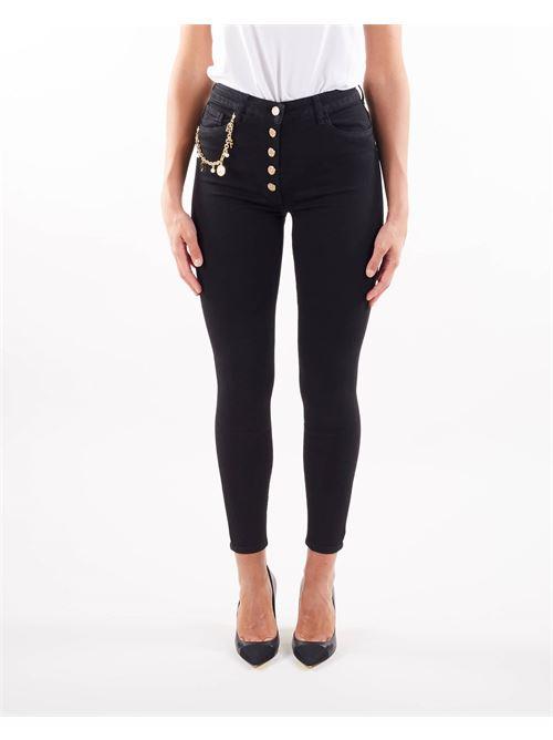 Jeans con charm Elisabetta Franchi ELISABETTA FRANCHI   Jeans   PJ16S16E2110