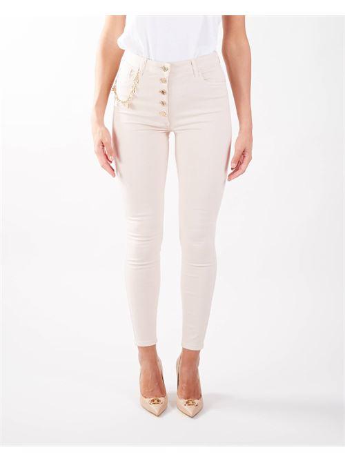 Jeans con charm Elisabetta Franchi ELISABETTA FRANCHI | Jeans | PJ16S16E2686