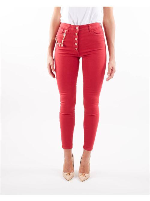 Jeans con charm Elisabetta Franchi ELISABETTA FRANCHI   Jeans   PJ16S16E2D97
