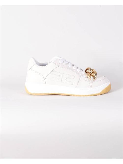 Sneakers con catena Elisabetta Franchi ELISABETTA FRANCHI | Sneakers | SA45H16E2360