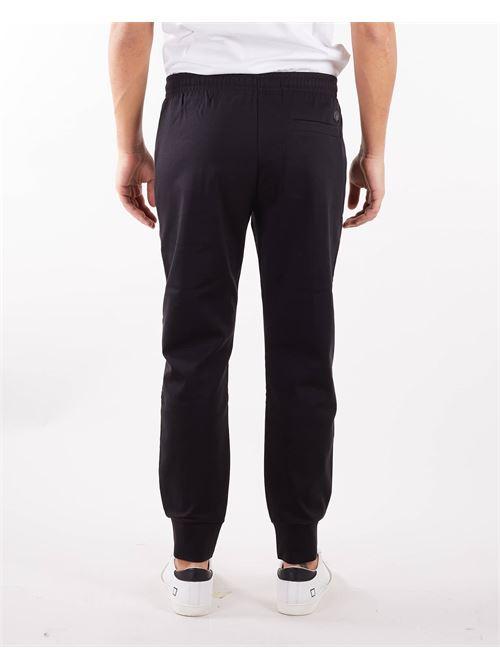 Pantaloni jogger in tessuto punto Roma Emporio Armani EMPORIO ARMANI | Pantalone | 8N1P721JBTZ999