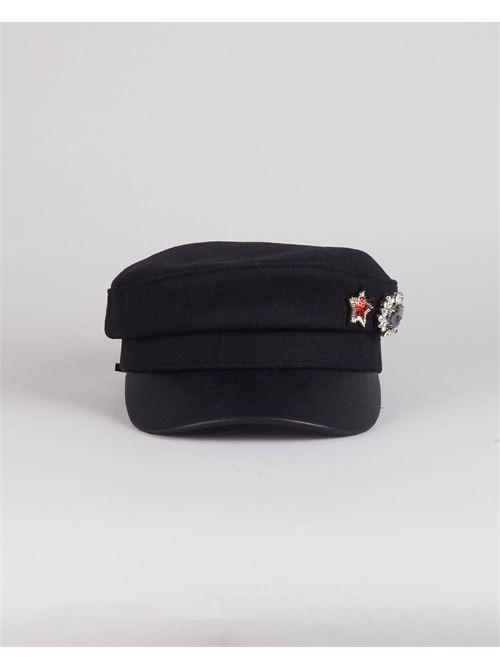 Cappello con accessorio Gio' Cellini GIO' CELLINI | Cappello | CP005NERO