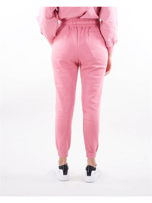 Pantalone in felpa con elastico in vita Giulia N GIULIA N | Pantalone | PEDRA13T42ROSA