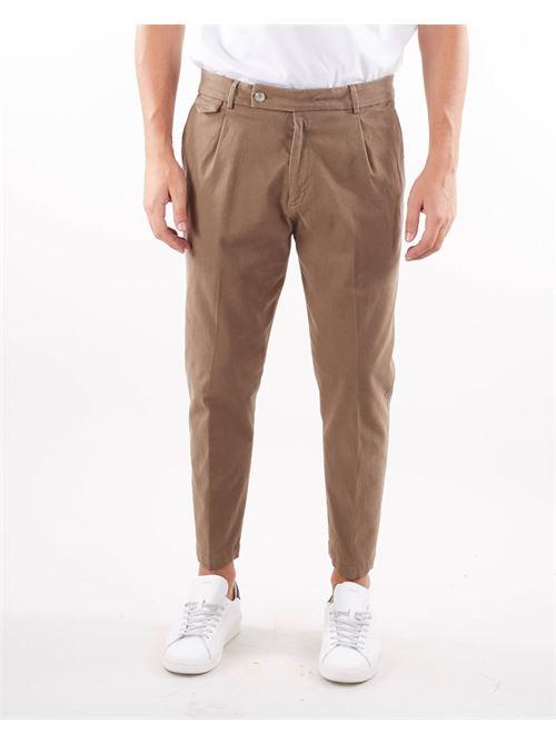 Pantalone in cotone caldo con pences Golden Craft GOLDEN CRAFT | Pantalone | GC1PFW20215490M073